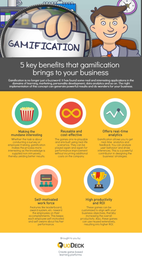 5 KEY BENEFITS THAT GAMIFICATION BRINGS TO YOUR BUSINESS